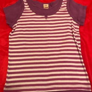 Other - 5/$20 Purple and white shirt